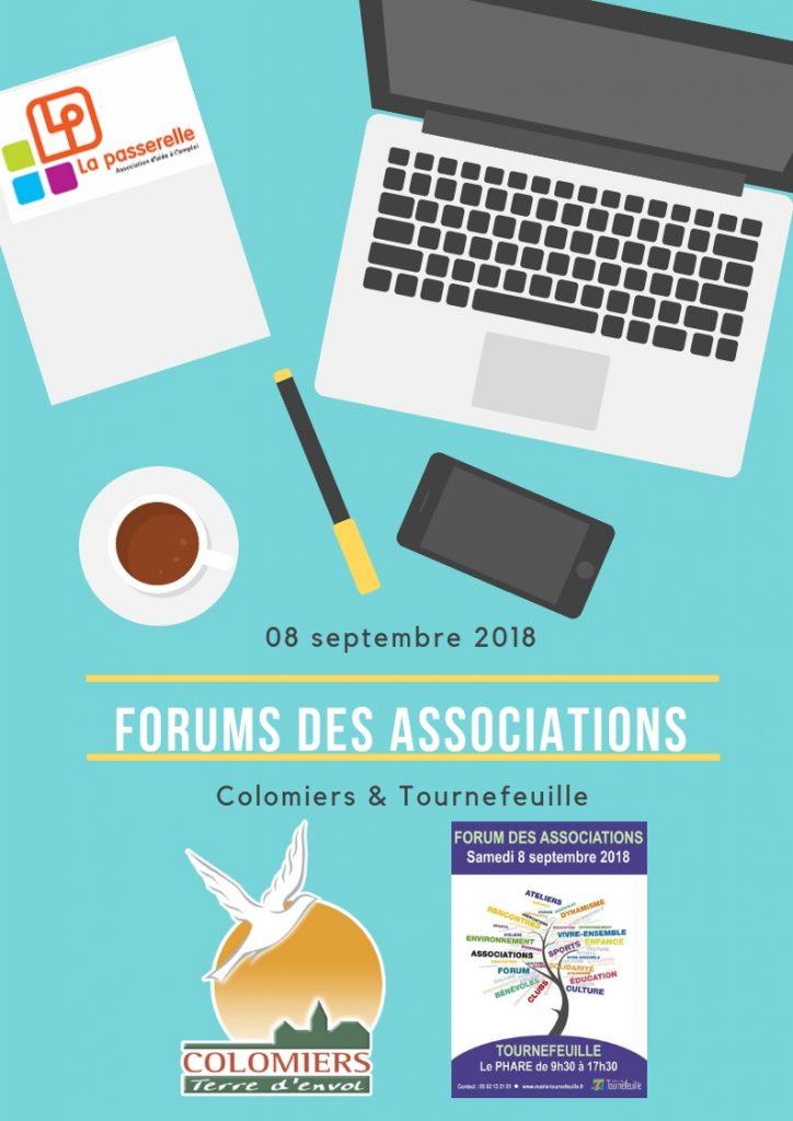 Affiche La Passerelle forums des associations