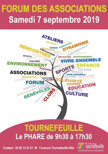 Affiche forum des associations Tournefeuille