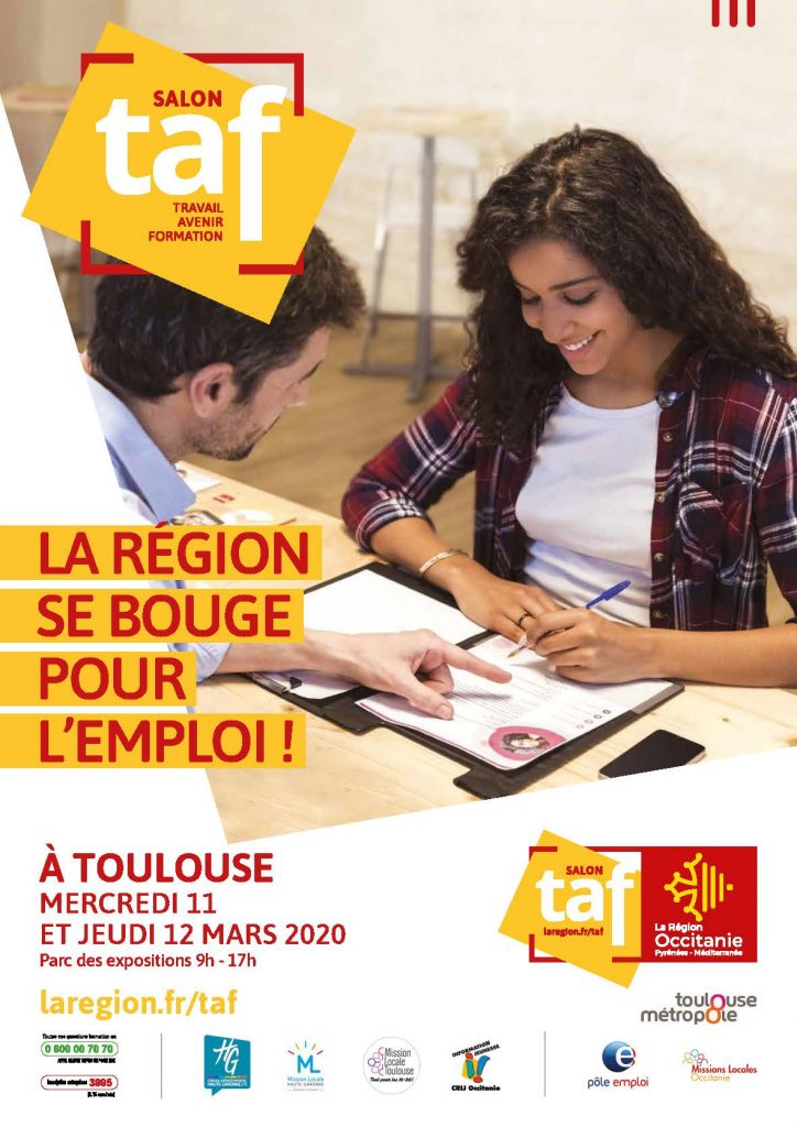 Affiche Salon TAF 2020