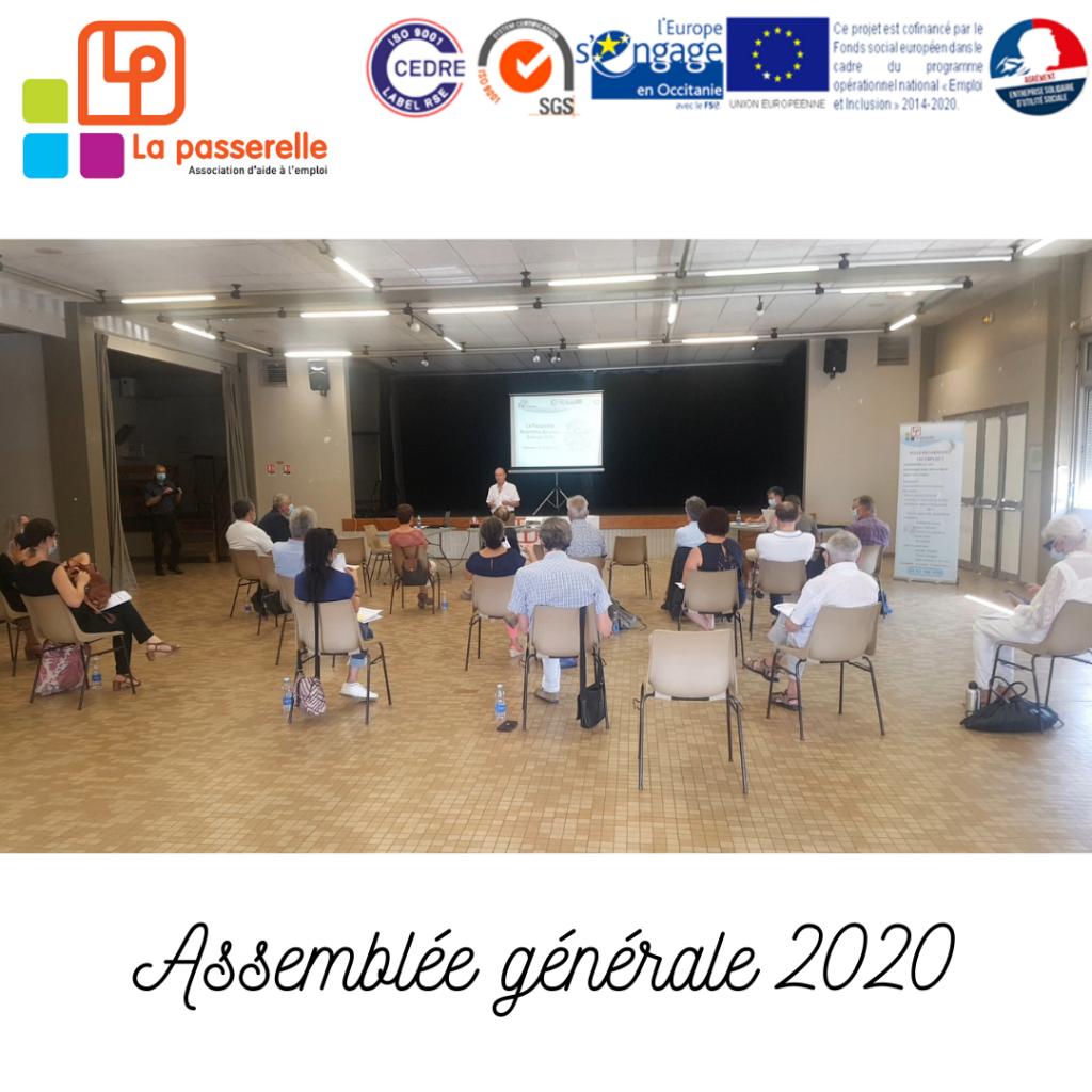 Photo Assemblée Générale La Passerelle 2020