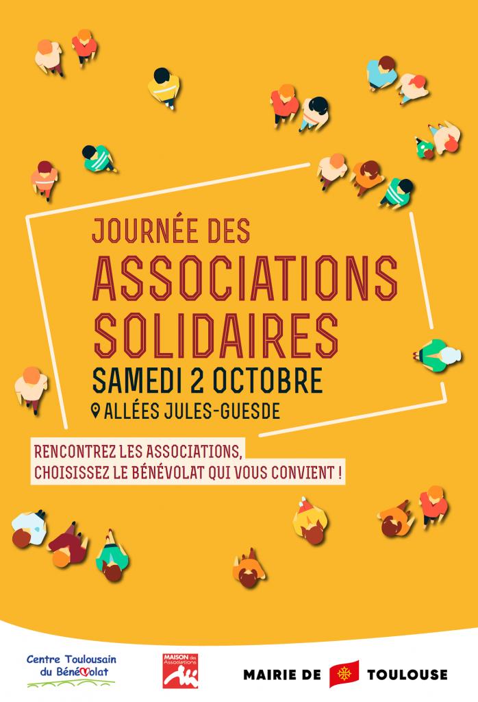 Affiche journée des associations solidaires 2021